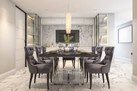 if you like marble this is the dining room for you with marble floor and
