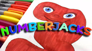 Numberjacks coloring pages in 2020. Bbs Cbeebies Kids Learning Maths Coloring The Numberjacks Number Three Youtube