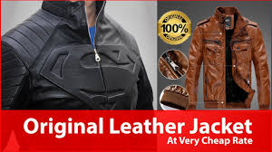 best leather jacket in live factory l dharavi
