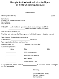 Bank Account Transfer Letter Sample Authorization Free Examples