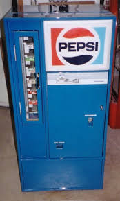 Pepsi Cola Vending Machines Old Mesmerizing Square Top Machines Antique Refinishing Services