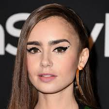 for the 2018 instyle awards lily collins showed off a fun new way to wear winged