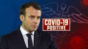 Presidente francés Macron da positivo por coronavirus