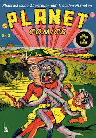 Science Fiction Aus Den 1940er Jahren Planet Comics Comicecke