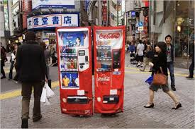 Japanese Vending Machine Dress Mesmerizing Japanese Anti RapeMugging Dress Transforms Into Vending Machine