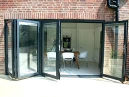 doors bi folding aluminium internal with glass panels panel bifold interior 2 6 stain ready solid