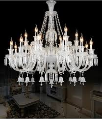 luxury large modern crystal chandelier lights glass arms candle modern crystal light fixtures