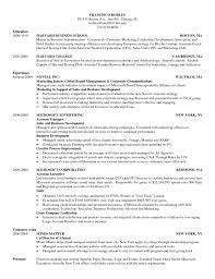 Harvard Resume Template Harvard Business School Resume Template Sample  Resume Of Harvard Template