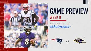 Game Preview Patriots At Ravens