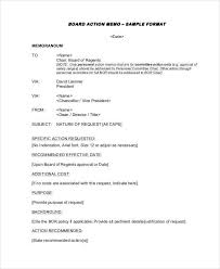 Memo To Board Of Directors Awesome 32 Board Memo Template Examples In Word PDF Sample Templates