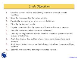 amortizing bond discount reporting and analyzing liabilities financial accounting lecture