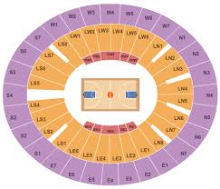 Lloyd Noble Center Seating Chart Norman