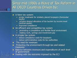 Tax Reform: An International Perspective - ppt download