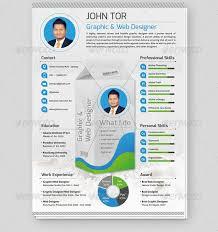 Infographic Resume Generator Free Professional Resume Templates