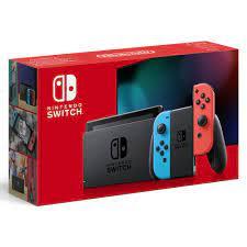 Nintendo Switch Neon Blue & Red met ...