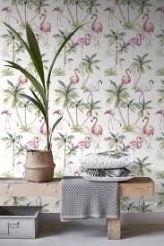 Bolcom Estahome Behang Xxl Flamingos Roze 158844