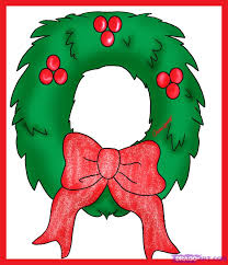 A Simple Christmas Wreath Clipart Panda Free Clipart Images