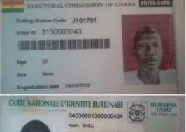 Voters' 000 Register Foreigners On Found 76 Ghana's