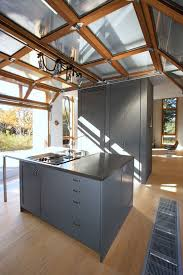 glass garage doors kitchen. Modern Kitchen With A Roll Up Garage Door To Enjoy The Views Whole Cooking And Eating Glass Doors K