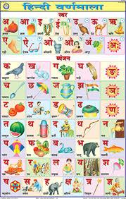 Hindi Barakhadi Chart Free Download Pdf Buy Hindi Alphabet Chart 50x75cm Book Online At Low Prices