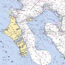 Islands Bahamas Andros Nautical Chart Decor
