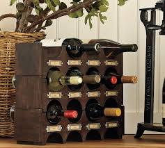 wine glass rack pottery barn. Image Of Ideas Pottery Barn Wine Rack For Stylish Organization To Your Racks Glass