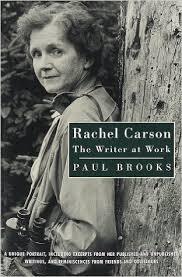 rachel carson  book listbook jacket  rachel carson  the writer at work