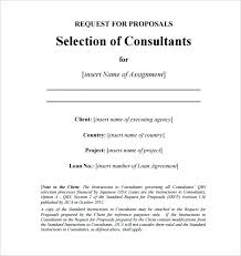 Sample Consulting Proposal Template Davidhdz Co