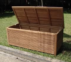diy outdoor storage box wood