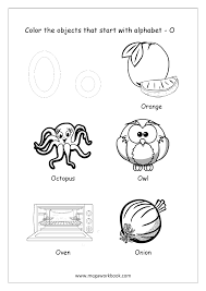Letter c worksheet, here you will find a variety of educational material. Alphabet Picture Coloring Pages Things That Start With Each Alphabet Free Printable Kindergarten Worksheets Megaworkbook