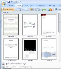 Adding A Cover Page Microsoft Word Ifonlyidknownthat