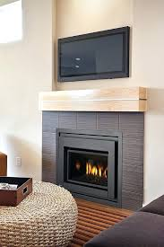 corner gas fireplace corner ventless gas fireplace mantels corner gas fireplace