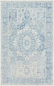 blue and white rugs faded medallion in pale blue and white blue white area rugs blue and white rugs
