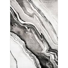 8 x 11 large wood grain gray white and black area rug platinum rc willey furniture
