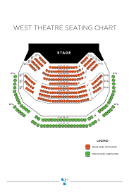 West Theatre Seating Chart Theatresquared