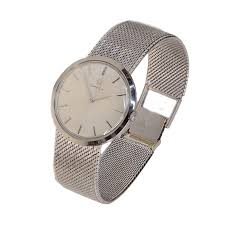 omega 14k white gold men s vintage watch watches omega 14k white gold men s vintage watch