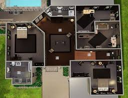 beautiful sims 3 modern mansion floor plans simple house plans for sims 3 awesome blueprints 4 bedroom house