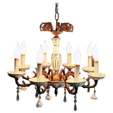 antique porcelain chandelier antique brass and porcelain eight light chandelier circa