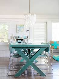 Colorful Dining Room Tables Simple Design Inspiration