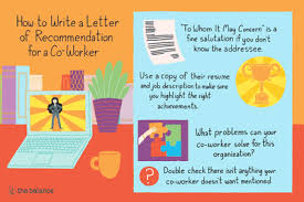 Decline To Write A Letter Of Recommendation How To Write A Letter Of Recommendation For A Co Worker
