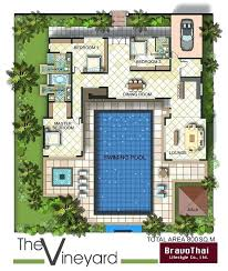 house plans with pool contemporary images of u shaped house plans house plans with small 2 bedroom houses photography decoration ideas house plans with