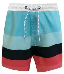 Snapper Rock Size Chart Boardshorts For Boys Surf Stripe Blue Red