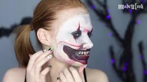 twisty the clown american horror story freak show makeup tutorial