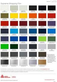 3m 50 Series Vinyl Colour Chart Earl Mich On Line Catalog