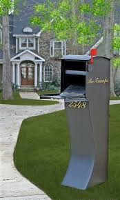 cool residential mailboxes. Mail Theft Solutions | Curbvault High Security Mailbox - Black Residential Cool Mailboxes