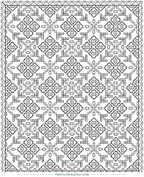Small Picture Free Printable Quilt Pattern Coloring Page Free Coloring Daily