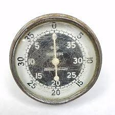 vintage tachometers gauges vtg stewart warner tachometer model 757 rat rod portable hand tach 4000 rpm