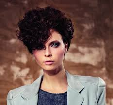 Hair Style 80s very short hairstyle with curls inspired by the 80s 2554 by wearticles.com