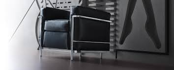 LC2 Poltrona Armchair by Le Corbusier, Pierre Jeanneret, Charlotte ...