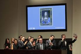 Long-lost da Vinci painting fetches $450.3 million, an auction ...